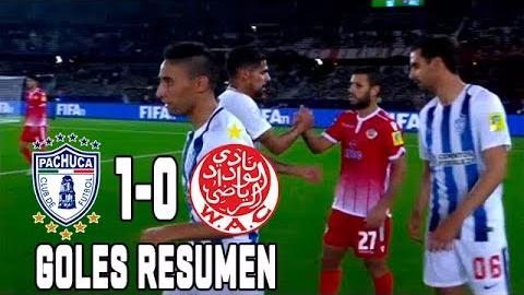Resumen y goles del triunfo de Pachuca ante Wydad Casablanca.