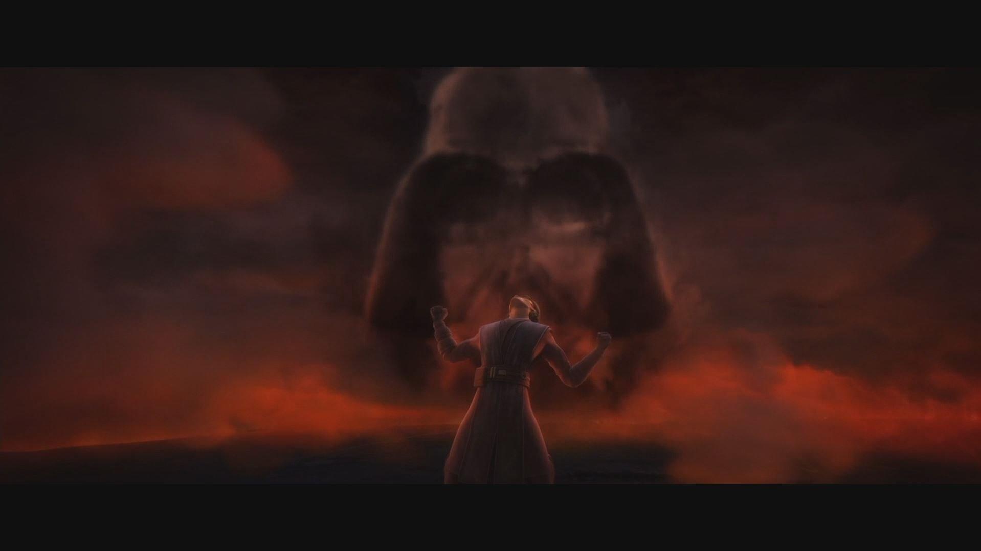 Aquí conocemos a fondo el conflicto interno de Anakin para encontrar el equilibrio de la Fuerza