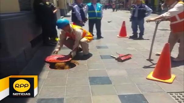 Verificación de hidrantes en Arequipa.