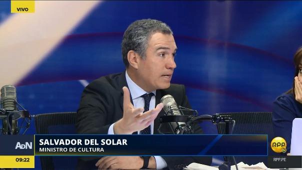 Salvador del Solar habló en RPP Noticias sobre la 'Paisana Jacinta'.