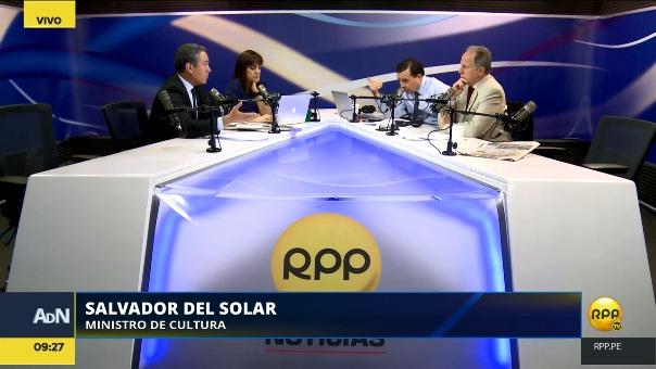 Del Solar defendió a PPK y al Gobierno del que forma parte.
