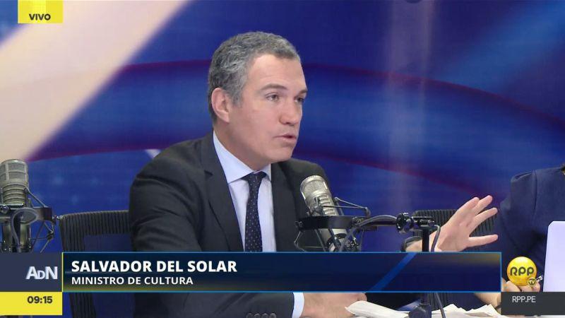"""Así respondió Salvador del Solar al término """"caviarón"""" que usó PPK para describirlo."""
