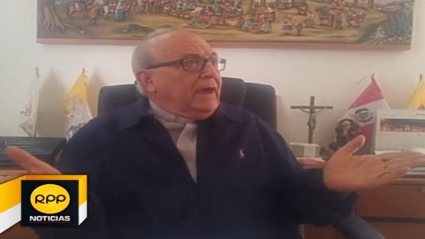 Expresó que el padre Luis Del Carpio miente en su denuncia