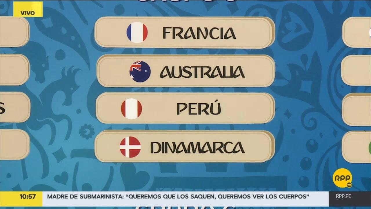 Estos son los grupos del Mundial Rusia 2018.