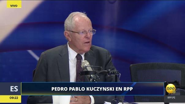 El presidente habló sobre la comisión Lava Jato en RPP.