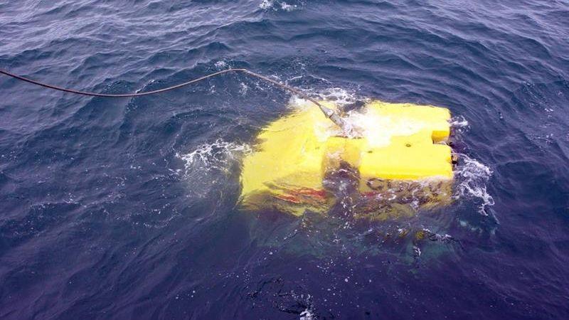 Hay cinco buques con sensores tratando de encontrar el submarino en un área de operaciones de unos 4.000 kilómetros cuadrados.
