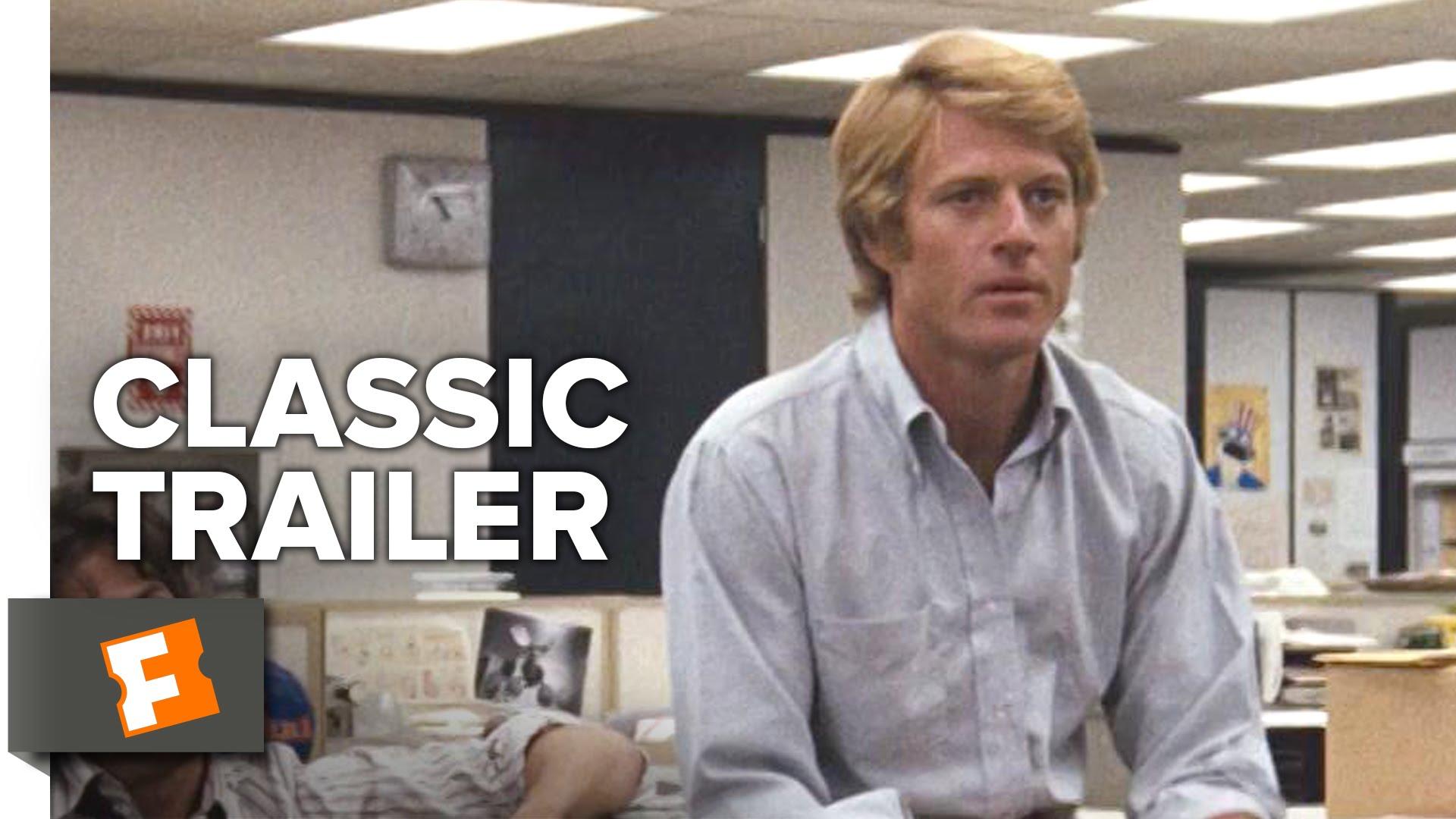 All The President's Men (1976) Official Trailer