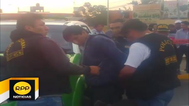 Los detenidos fueron identificados como Juan Alberto Quispe Flores (18) y Ronald Milthon Medina Caira (19).