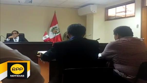 Inició juicio oral contra gobernador regional Humberto Acuña Peralta