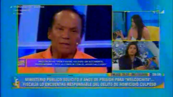 El actor declaró vía telefónica al espacio conducido por Jazmín Pinedo