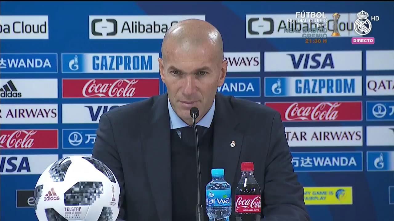 Escucha las declaraciones del técnico del Real Madrid tras el título del Mundial de Clubes.