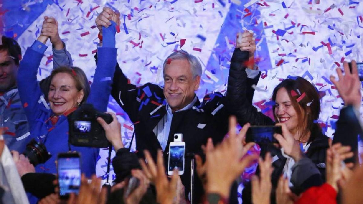 Sebastián Piñera volverá a la Casa de la Moneda luego de cuatro años.