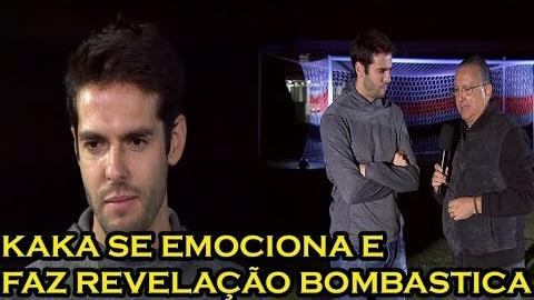La entrevista completa de Kaká con Globo.