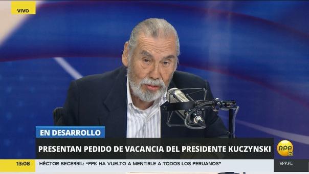 El periodista Raúl Vargas asumió el cargo de consejero editorial de RPP en marzo de este año.