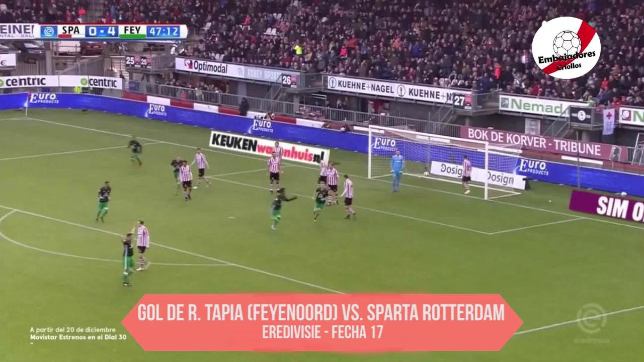 Revive el gol de cabeza de Renato Tapia en el Feyenoord.