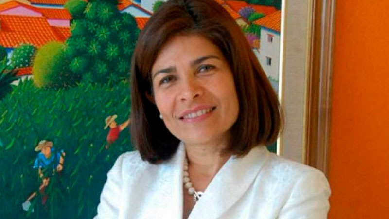 Hernández había dejado su cargo como exministra para apoyar la campaña presidencial de su hermano Juan Orlando.