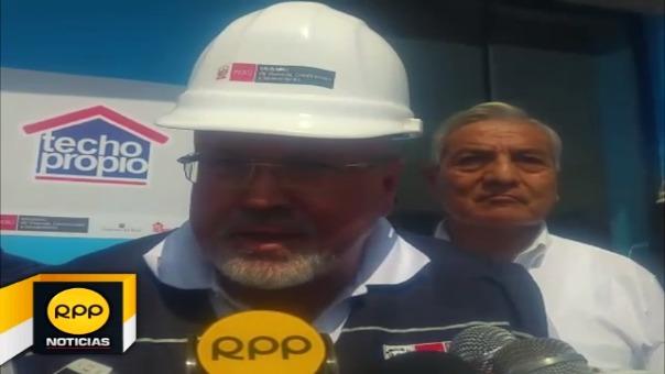 Carlos Bruce llegó a Trujillo.
