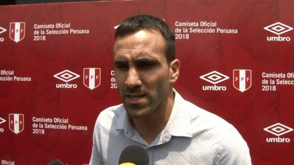 José Carvallo es el tercer arquero de la Selección Peruana.