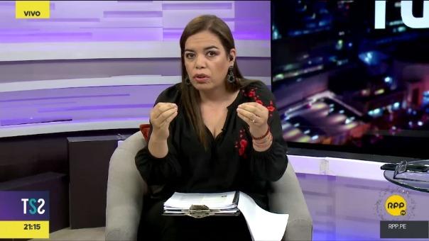 Milagros Leiva informó que Keiko Fujimori voto a favor del informe favorable a Odebrecht pese a la advertencia del entonces miembro de su bancada Renzo Reggiardo.