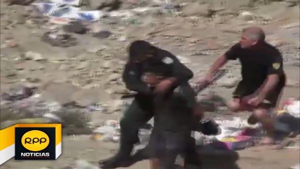 Policías lograron captura