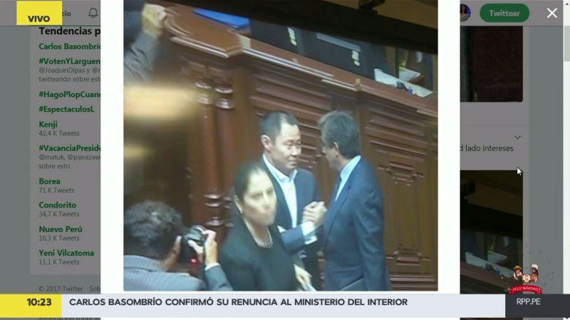 Carlos Tubino criticó duramente al menor de los Fujimori.