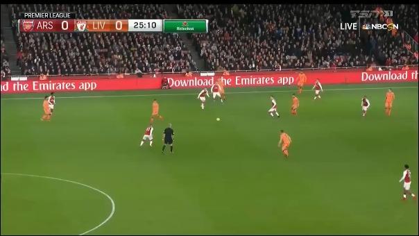 El resumen del encuentro entre Arsenal vs. Liverpool.