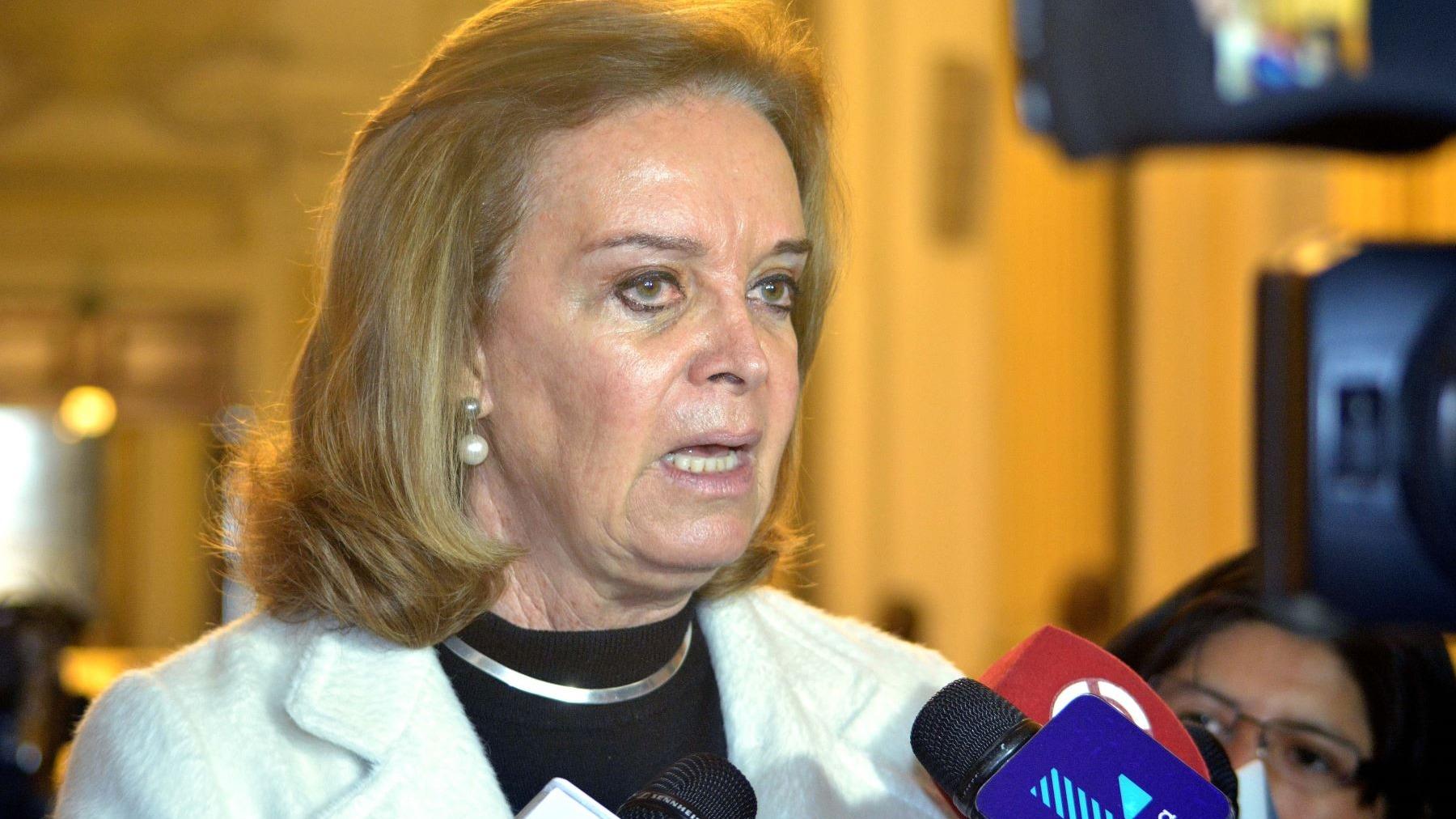 Luisa María Cuculiza fue congresista y ministra del fujimorismo.