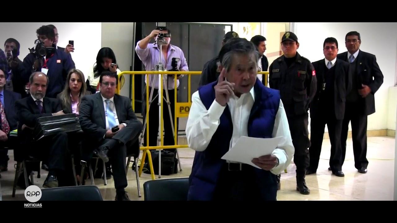 Informe sobre el indulto a favor de Alberto Fujimori.