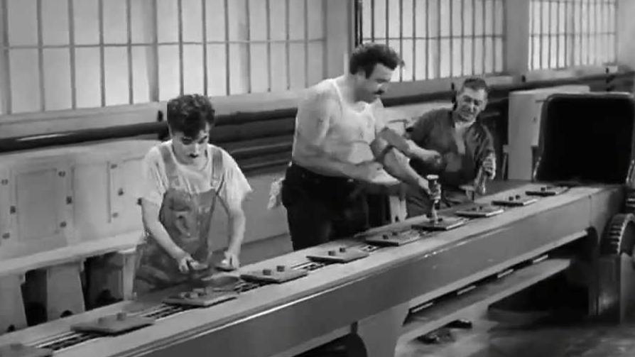 Charles Chaplin - Tiempos Modernos