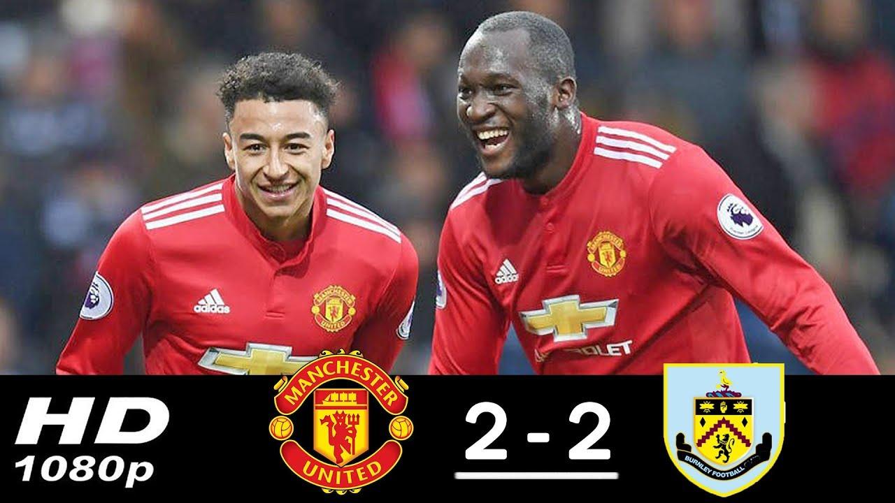 Resumen y goles del empate a dos entre Manchester United y Burnely.