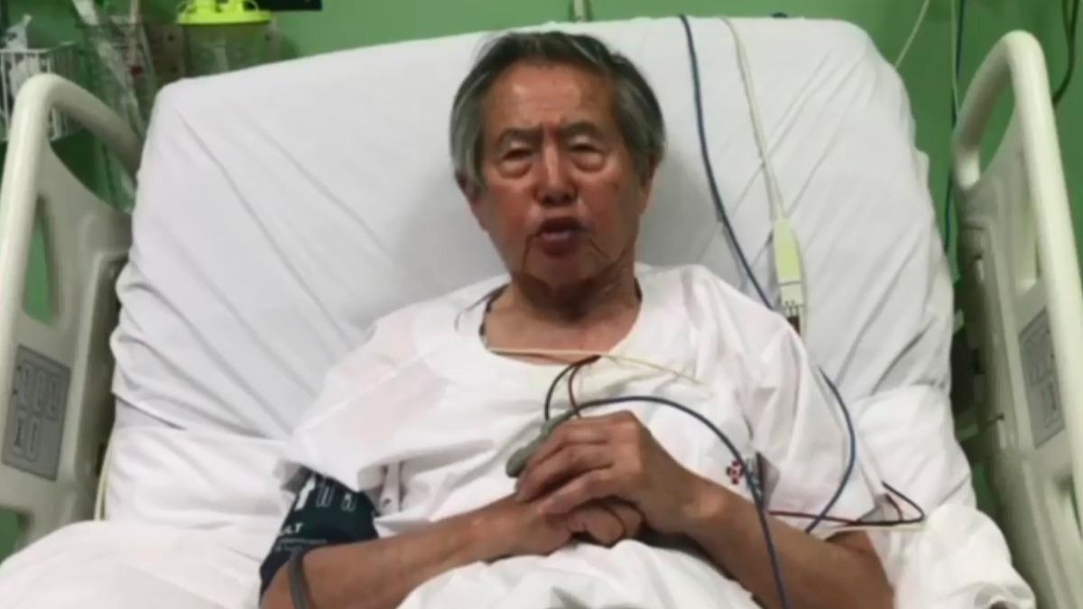 Fujimori permanece en la Clínica Centenario.