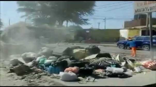 Acumulación de basura en Piura.