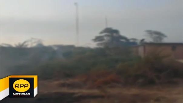 Durante los días 24 y 25 de diciembre, se registraron dos incendios forestales en Salas y Motupe.