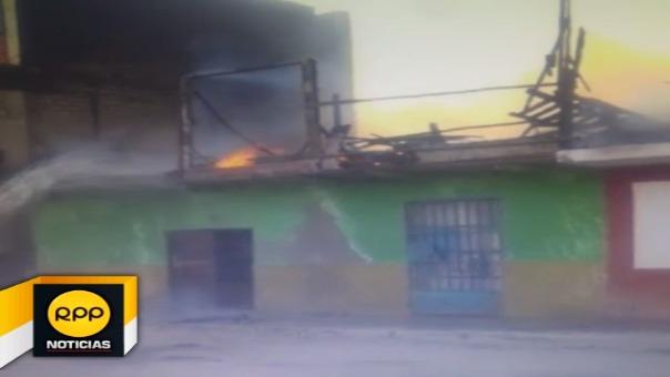Incendios generan alarma en población de los distritos de Santa y Nuevo Chimbote
