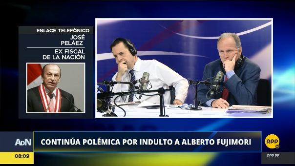 El ex fiscal de la Nación conversó con RPP Noticias sobre el indulto y derecho de gracia a Alberto Fujimori.