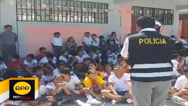 Charla contra pirotécnicos en Chiclayo