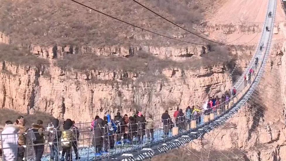 La firma Bailu Group señaló que varios operarios inspeccionarán diariamente el estado del puente.