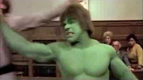 Su primera aparición fue en la serie del Hombre Increible.