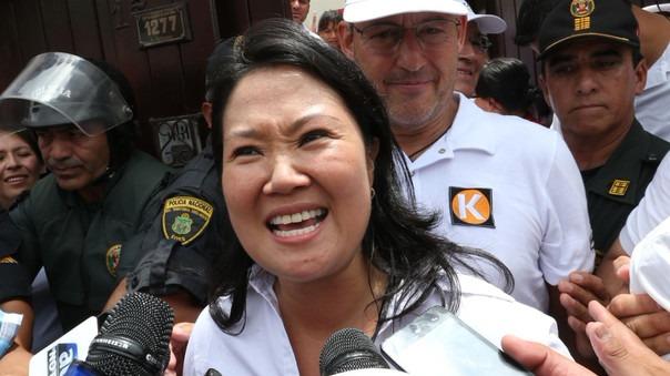 Keiko Fujimori negó haber tenido cualquier contacto con Marcelo Odebrecht.