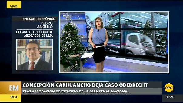 Pedro Angulo en RPP TV.