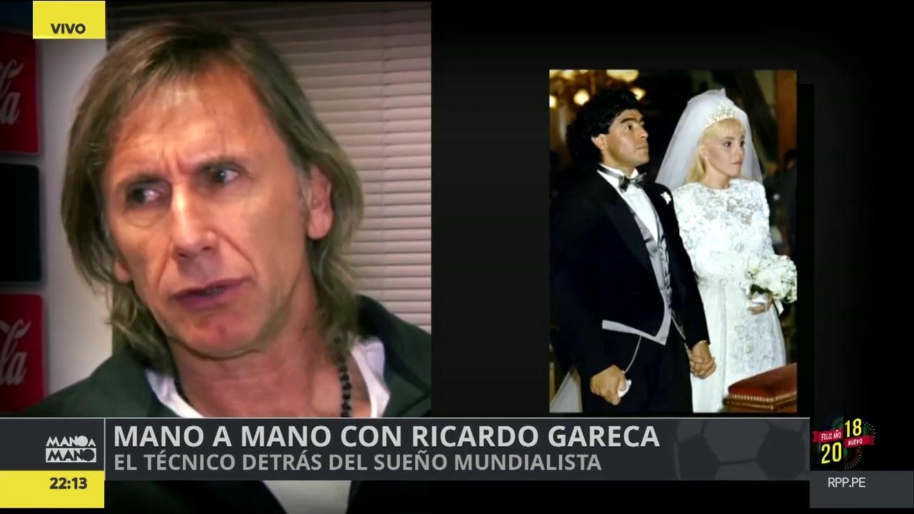 Ricardo Gareca en 'Mano a Mano' de RPP.