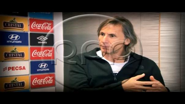 Ricardo Gareca habló para RPP Noticias en el programa 'Mano a Mano'.
