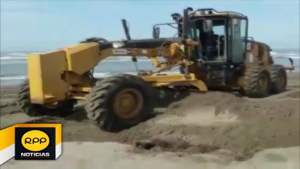 La limpieza empezó en la playa Santa Rosa, donde se eliminaron unas 20 toneladas de residuos