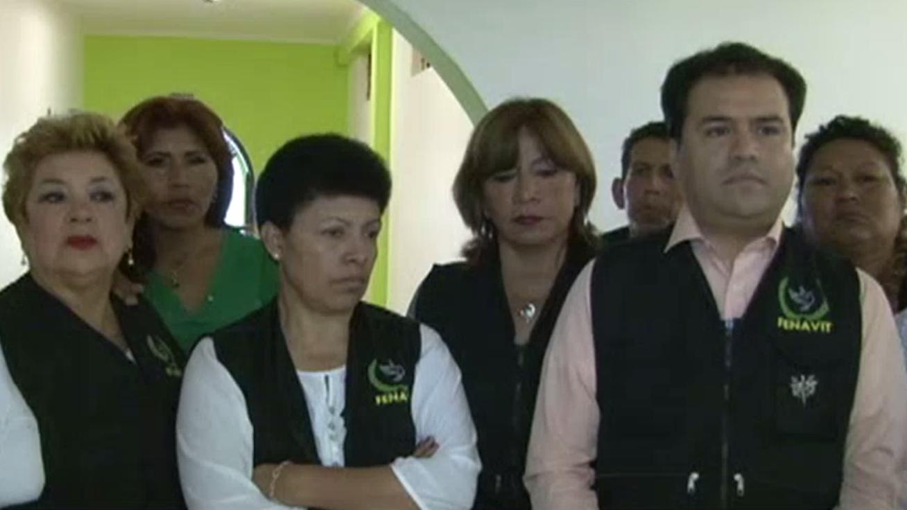 Los familiares de las víctimas de terrorismo se mostraron a favor del indulto humanitario.
