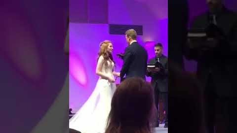 La boda se celebró hace dos meses en Estados Unidos.