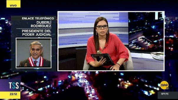 Duberlí Rodríguez se comunicó con Milagros Leiva para aclarar dudas respecto a los cambios de la última semana.