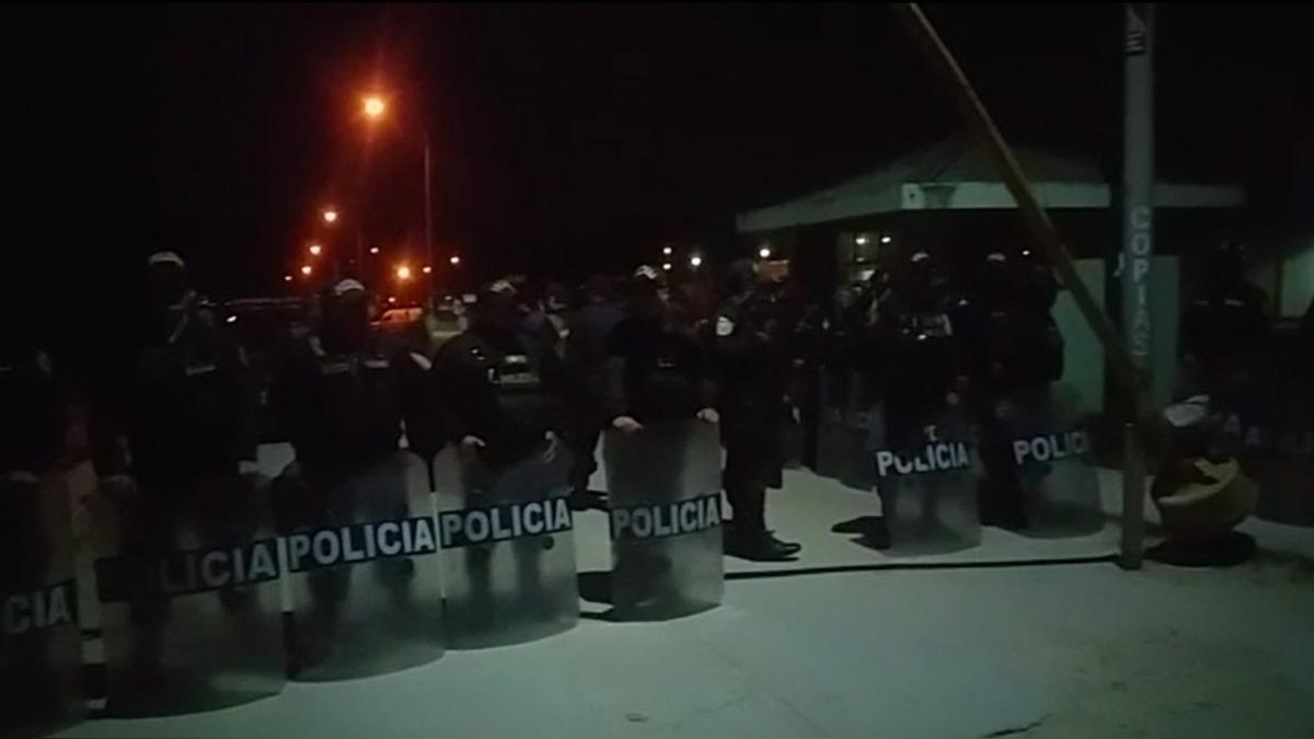 Declaraciones del jefe de la Región Policial de Cajamarca, coronel Luis Cacho Roncal.