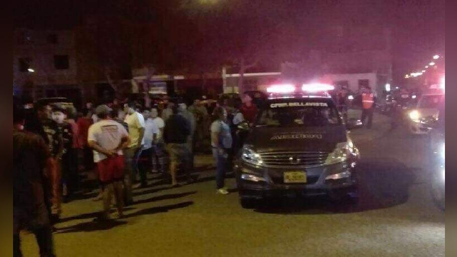 Pobladores conmocionados por accidente de tránsito.
