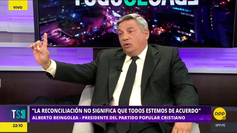 El exparlamentario dijo que durante la crisis política ningún partido pensó en el bien del país sino en su bien propio.