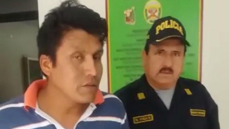 Cristian Quillahuamán fue detenido poco después del trágico accidente en el Serpentín de Pasamayo.